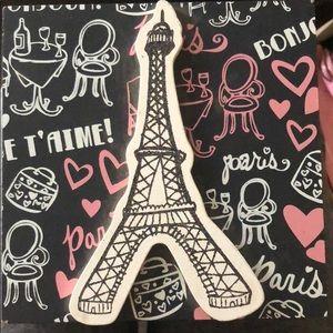 Paris themed jewelry box